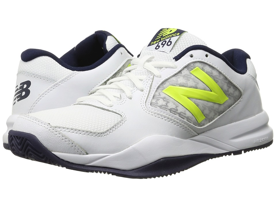 New Balance - MC696v2 (Riptide/Firefly) Men's Tennis Shoes
