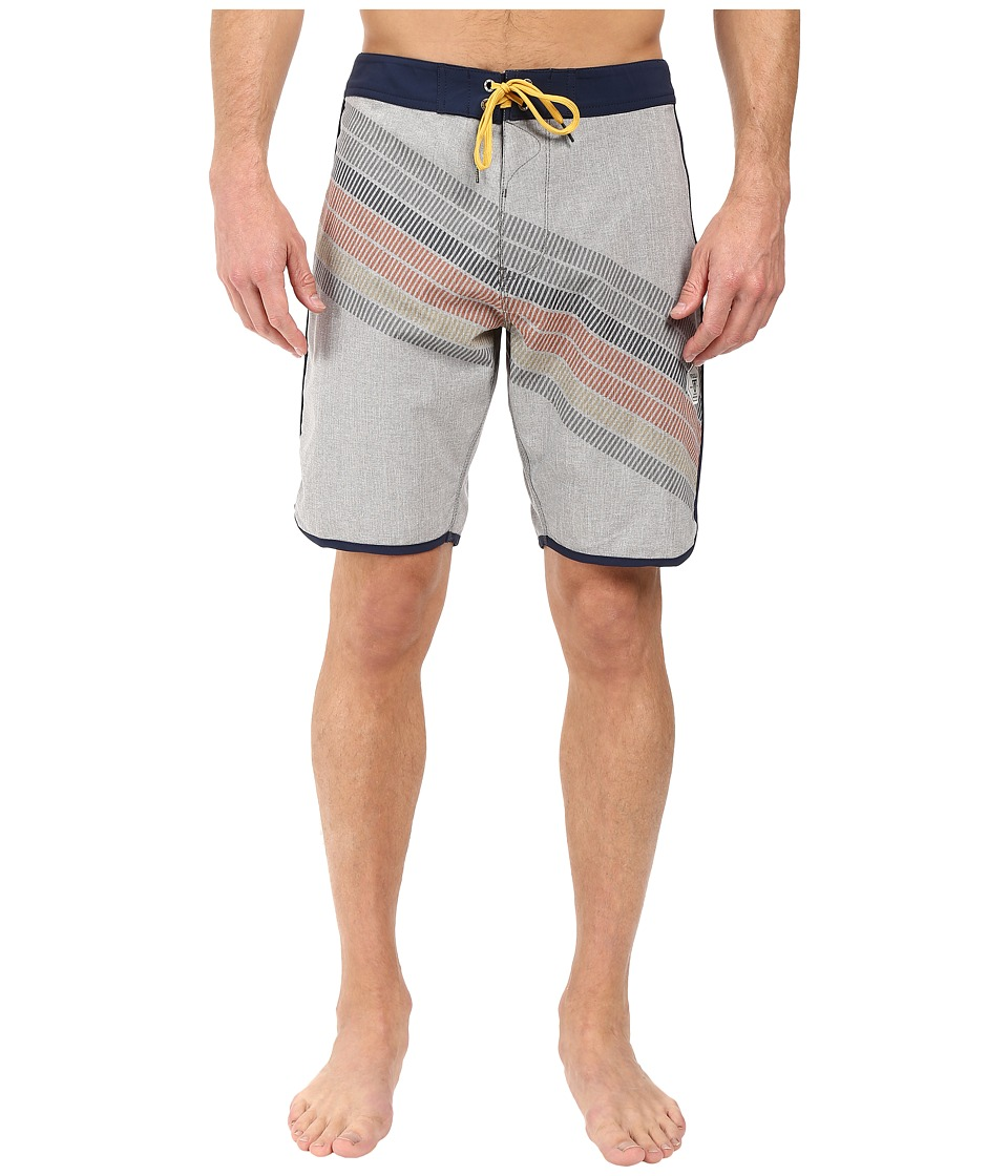 VISSLA - Drain Pipes 4-Way Stretch Boardshorts 20 (Gunmetal) Men's Swimwear
