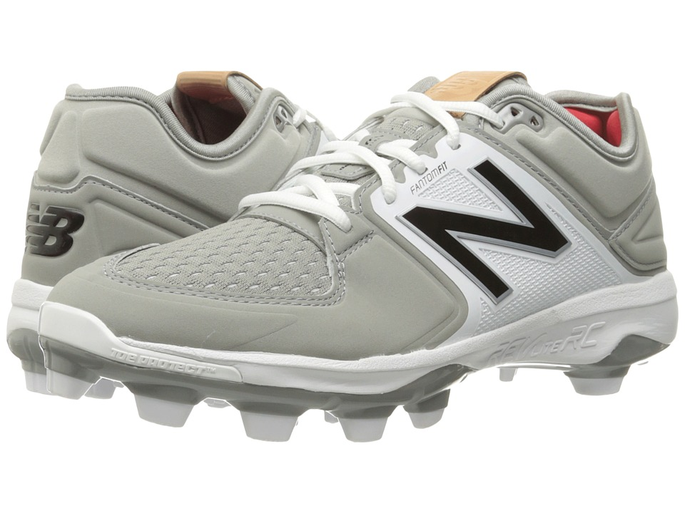 New Balance - PL3000v3 (Grey/White) Men's Cleated Shoes