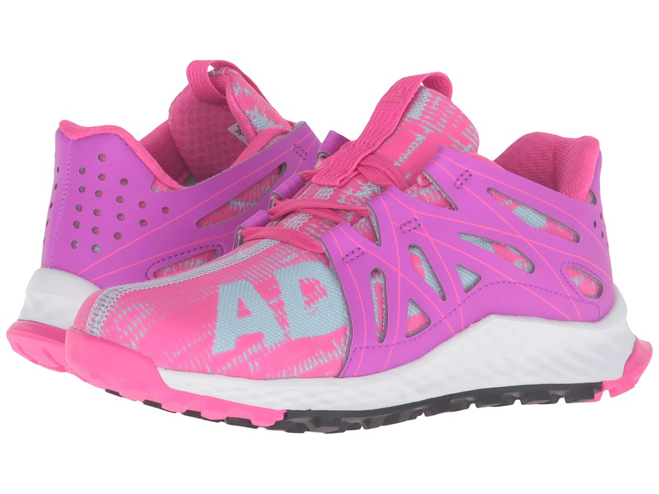 adidas Kids - Vigor Bounce (Little Kid) (Ice Blue/Shock Purple/Shock Pink) Girls Shoes