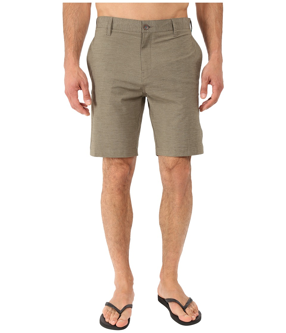 VISSLA - Ships Cove 19 Hybrid Walkshort (Khaki) Men's Shorts