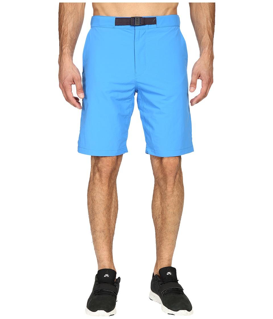 Nike SB - SB Everett Woven Shorts (Light Photo Blue) Men's Shorts