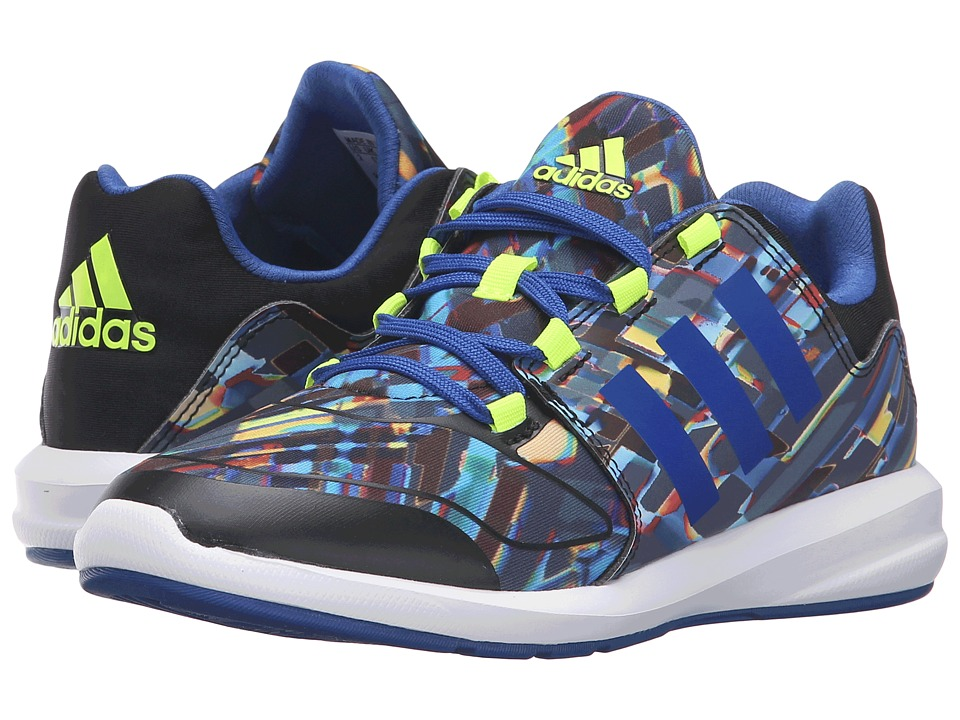 adidas Kids - S-Flex Xeno Pack (Little Kid/Big Kid) (Black/Collegiate Royal/Solar Yellow) Kids Shoes