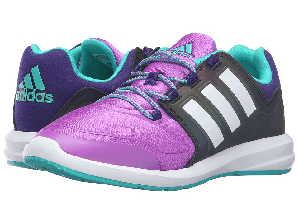adidas Kids - S-Flex Xeno Pack (Little Kid/Big Kid) (Shock Purple/White/Shock Mint) Kids Shoes