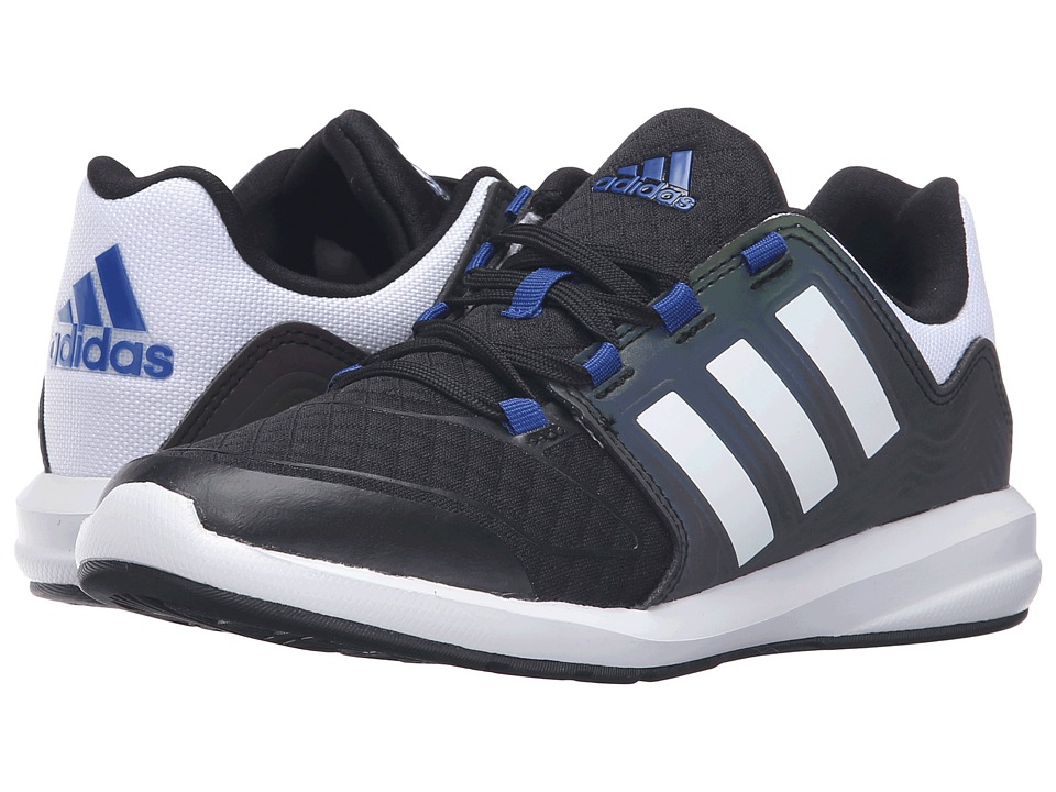 adidas Kids - S-Flex Xeno Pack (Little Kid/Big Kid) (Black/White/Collegiate Royal) Boys Shoes