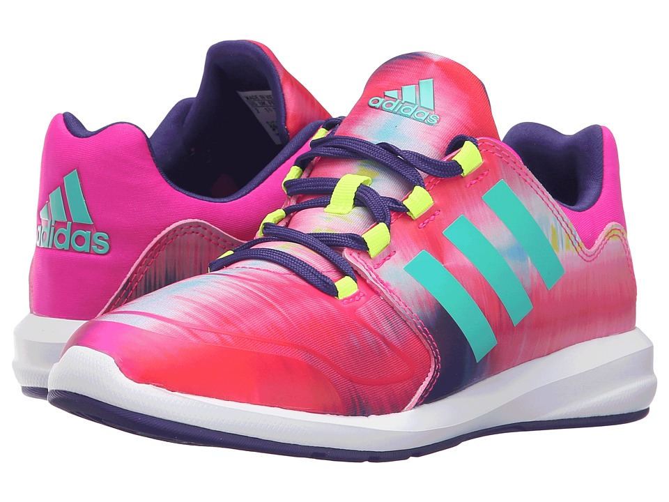 adidas Kids - S-Flex Xeno Pack (Little Kid/Big Kid) (Shock Pink/Shock Mint/Collegiate Purple) Girls Shoes