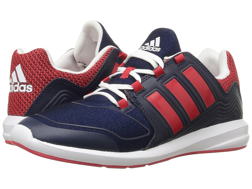 adidas Kids S-Flex (Little Kid/Big Kid) (Collegiate Navy/Ray Red/White) Boys Shoes