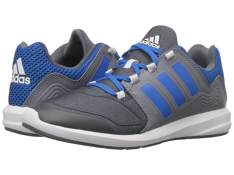adidas Kids S-Flex (Little Kid/Big Kid) (Onix/Shock Blue/Grey) Boys Shoes