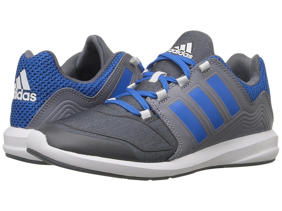 adidas Kids - S-Flex (Little Kid/Big Kid) (Onix/Shock Blue/Grey) Boys Shoes