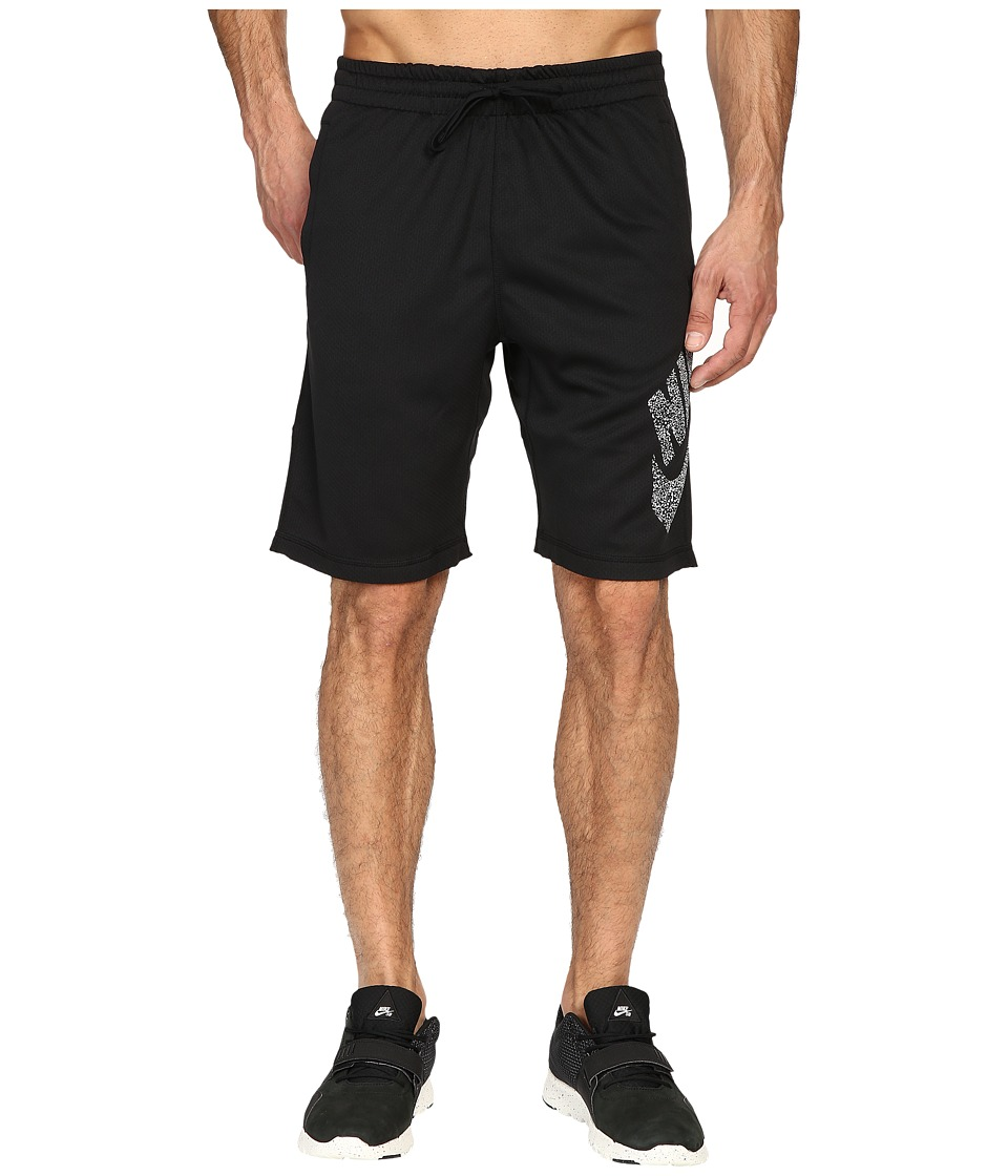 Nike SB - SB Dri-Fit Dot Sunday Shorts (Black/White) Men's Shorts