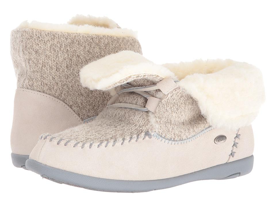 Acorn - Slopeside Boot (Birch) Women's Slippers