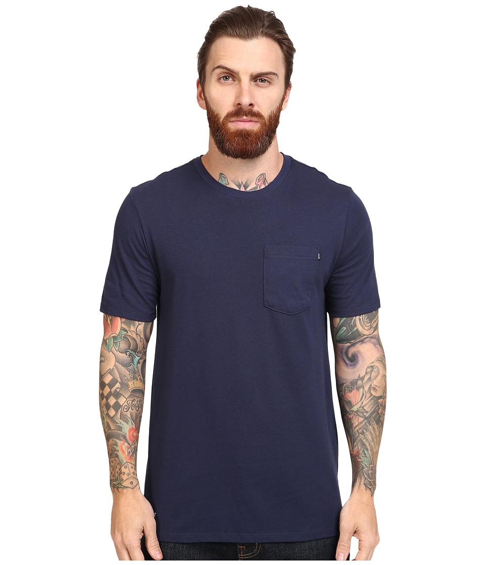 Nike SB - SB Wave Tee (White/White/Rio Teal) Men's T Shirt