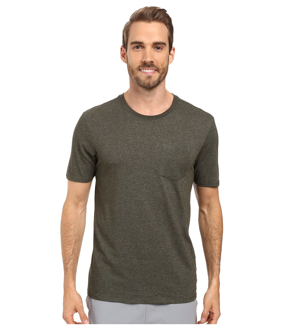 Nike SB - SB Dri-FIT Solid Pocket Tee (Dark Army Heather/Dark Army Heather) Men's T Shirt