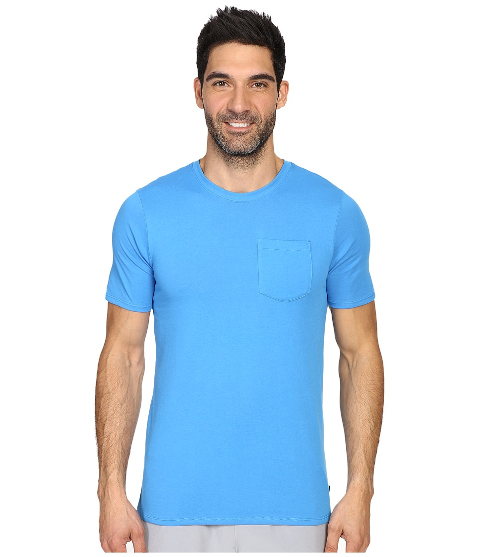 Nike SB - SB Dri-FIT Solid Pocket Tee (Light Photo Blue/Light Photo Blue) Men's T Shirt