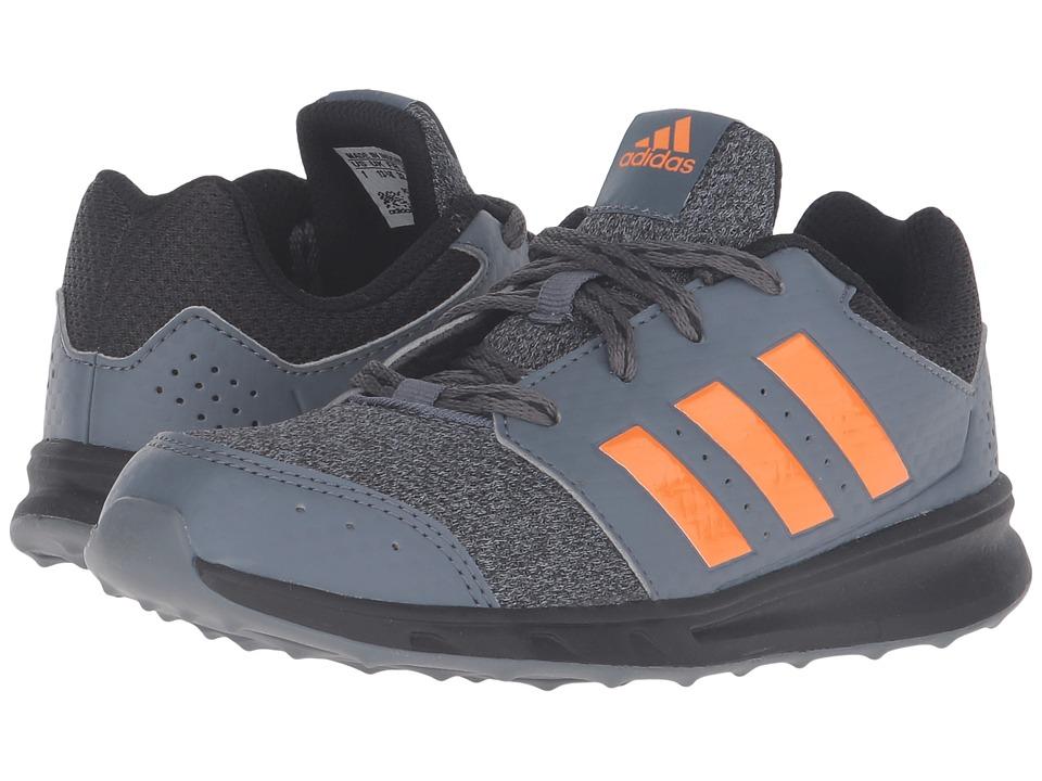 adidas Kids - LK Sport 2 (Little Kid/Big Kid) (Black/Onix/Unity Orange) Boy's Shoes