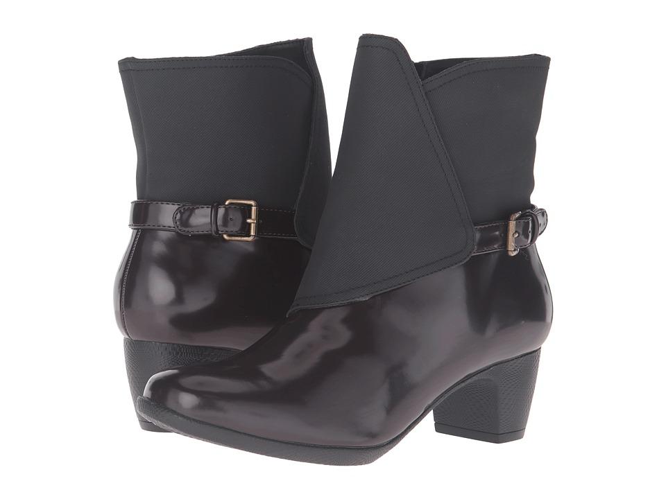 Trotters - Stormy (Bordeaux/Black Box Leather) Women's Boots