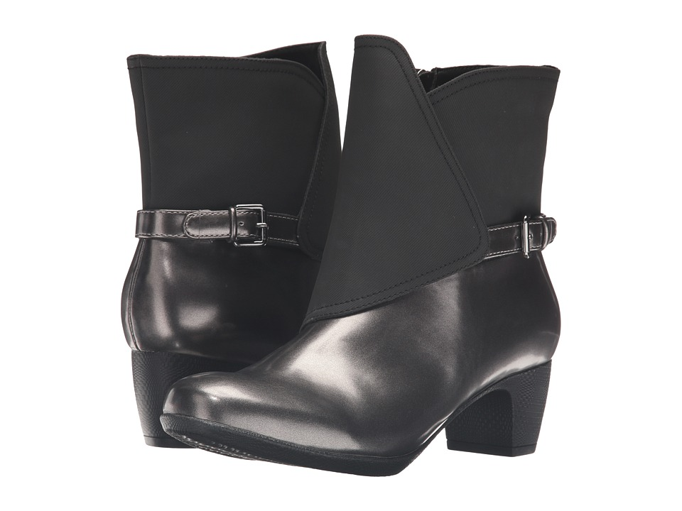 Trotters Stormy (Graphite/Black Box Leather) Women