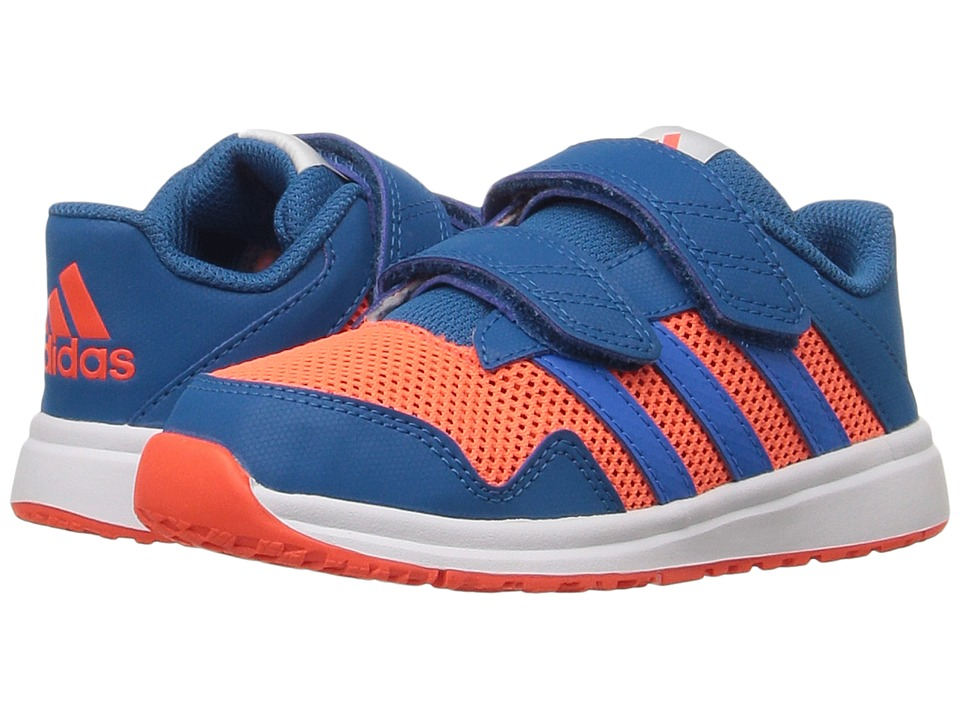 adidas Kids - Snice 4 CF (Toddler) (Unity Blue/Shock Blue/Solar Red) Boys Shoes
