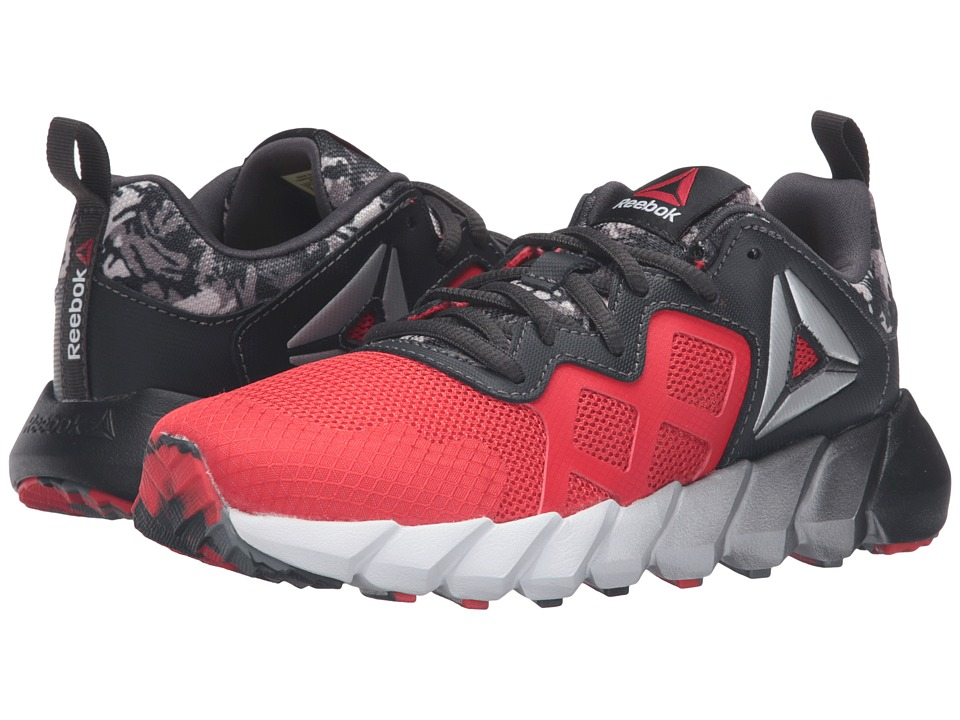 Reebok Kids - Exocage Athletic GR (Little Kid) (Riot Red/Coal/White) Boys Shoes