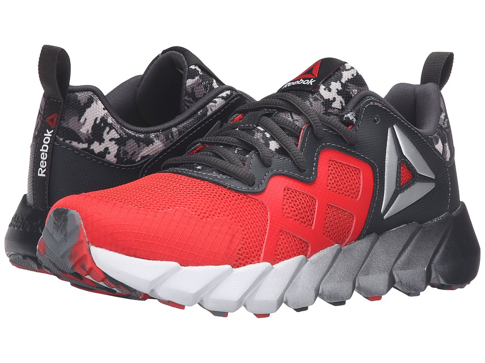 Reebok Kids - Exocage Athletic GR (Big Kid) (Riot Red/Coal/White) Boys Shoes