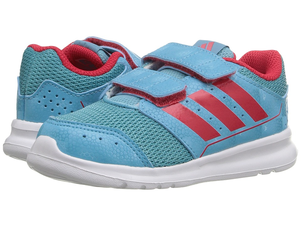 adidas Kids - LK Sport CF (Toddler) (Vapour Blue/Ray Red/White) Girl's Shoes