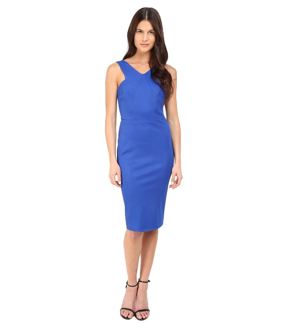Zac Posen Sleeveless Sheath Dress (Royal Blue) Women
