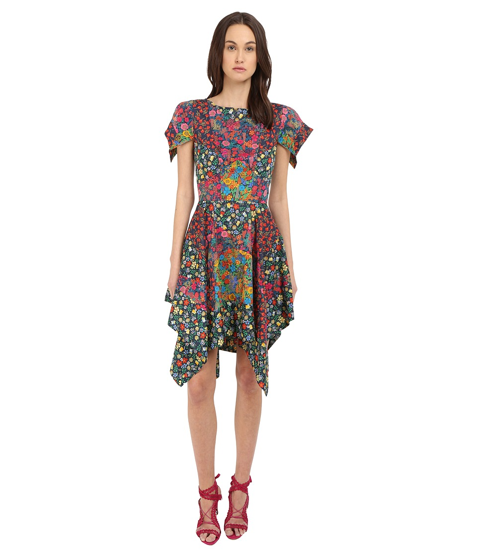 Zac Posen - Flutter Sleeve Dress (Multi Liberty) Women's Dress