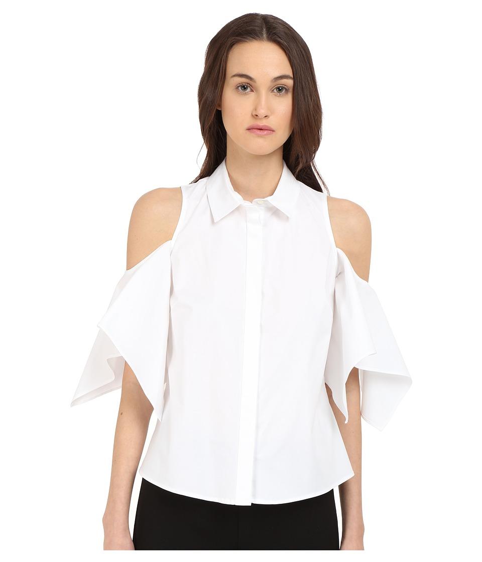 Zac Posen - Dolman Sleeve Blouse (White) Women's Blouse