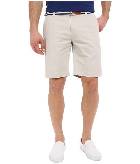 U.S. POLO ASSN. - Hartford Flat Front Twill Shorts (Tin Grey) Men's Shorts