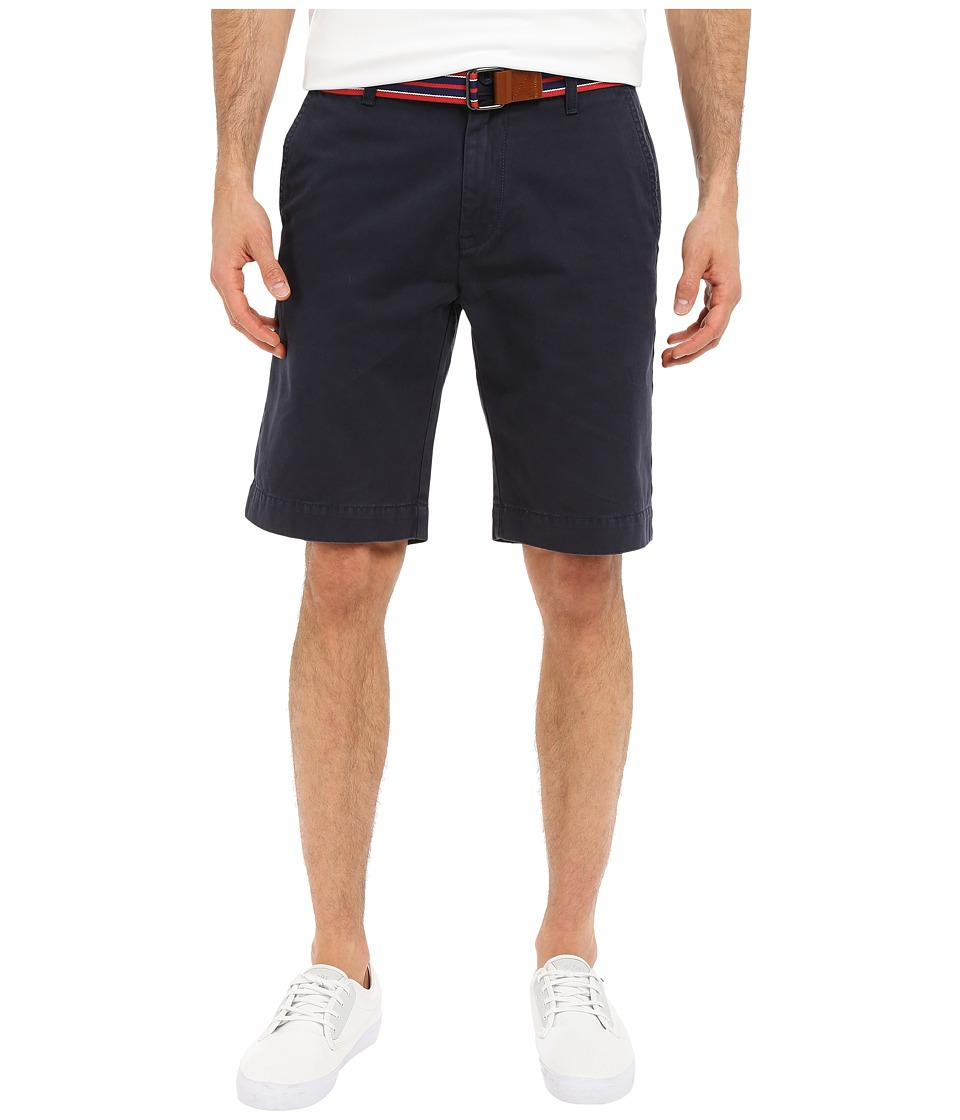 U.S. POLO ASSN. - Hartford Flat Front Twill Shorts (Club Navy) Men's Shorts