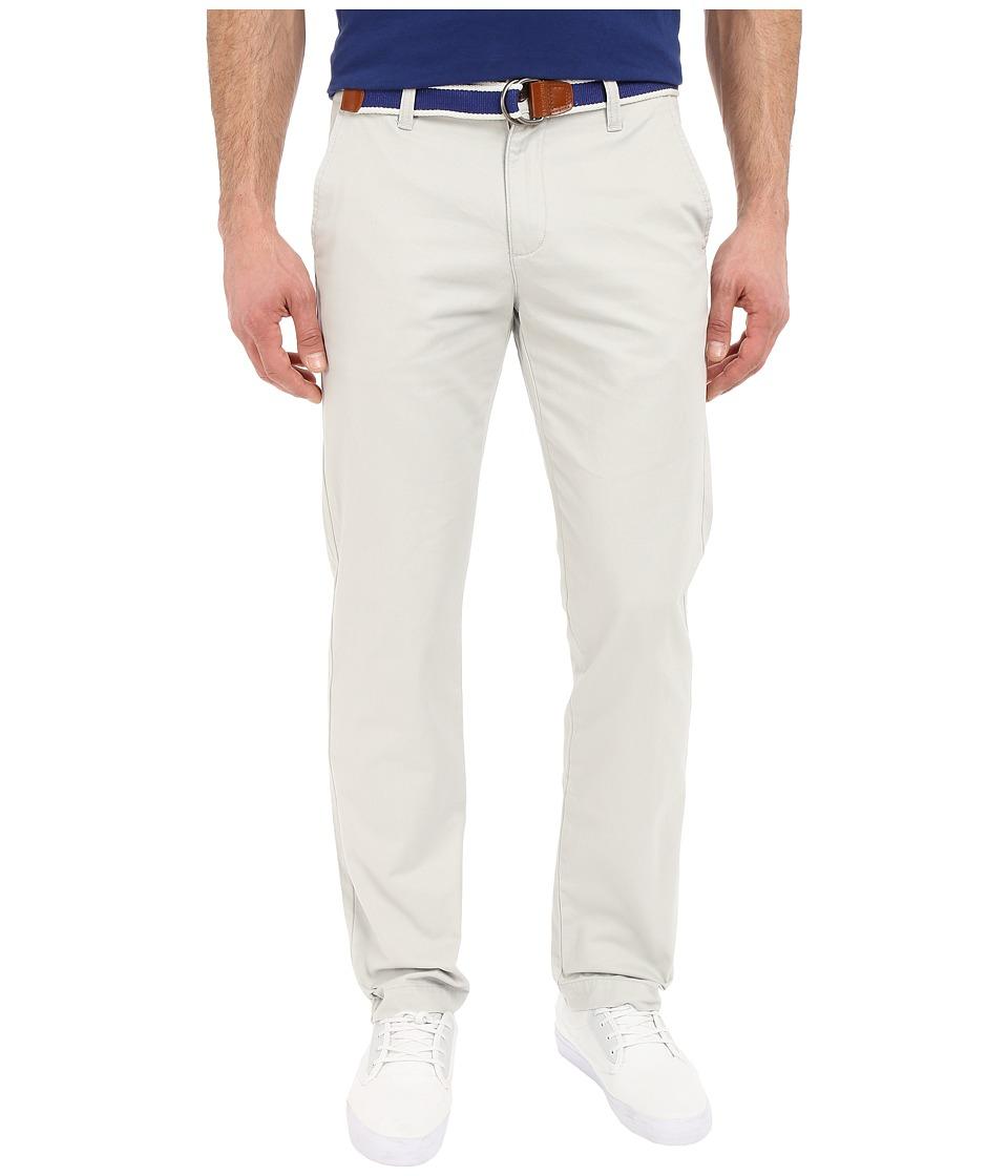 U.S. POLO ASSN. - Classic Chino Twill Pants w/ Web Belt (Tin Grey) Men's Casual Pants