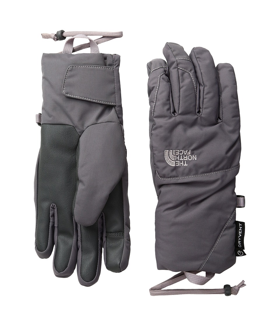 The North Face - Guardian Etip Gloves (Rabbit Grey/Quail Grey) Extreme Cold Weather Gloves