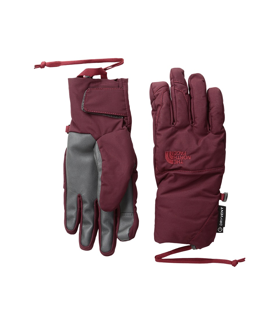 The North Face - Guardian Etip Gloves (Deep Garnet Red) Extreme Cold Weather Gloves