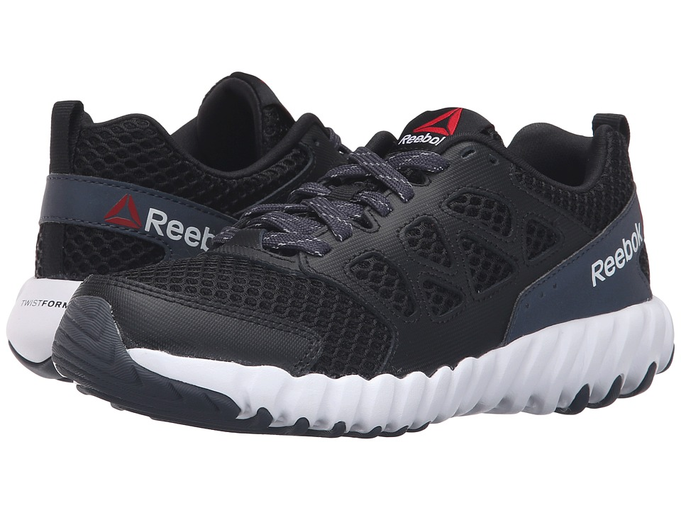 Reebok Kids - Twistform Blaze 2.0 BRGT (Little Kid) (Black/Smokey Black/White) Boys Shoes