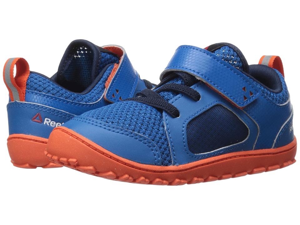 Reebok Kids - Ventureflex Stride 4.0 (Toddler) (Instinct Blue/Collegiate Navy/Flux Orange/White) Boy's Shoes