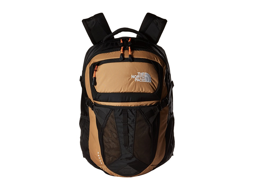 The North Face - Recon (Doe Tan/Shocking Orange) Backpack Bags