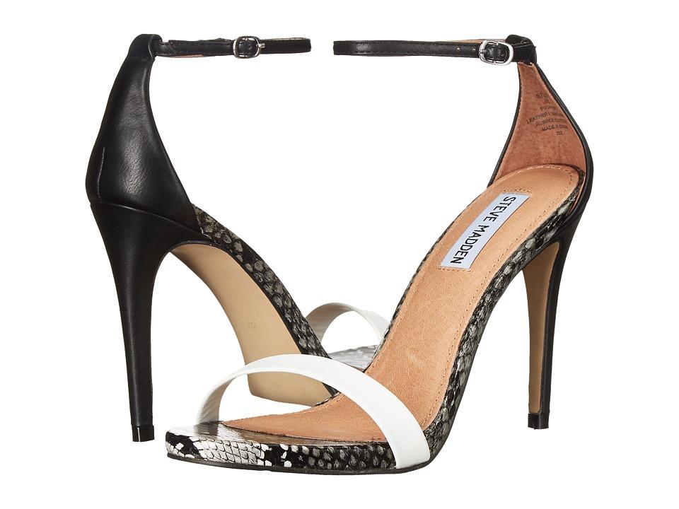 Steve Madden - Stecy (White Multi) High Heels