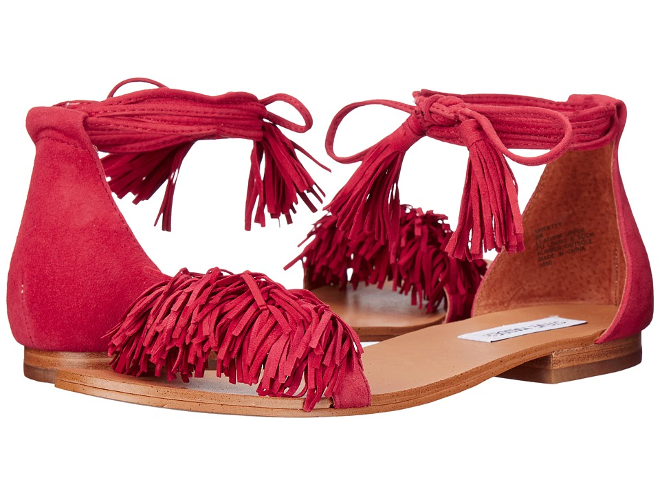 Steve Madden - Sweetyy (Red Suede) Women's Sandals