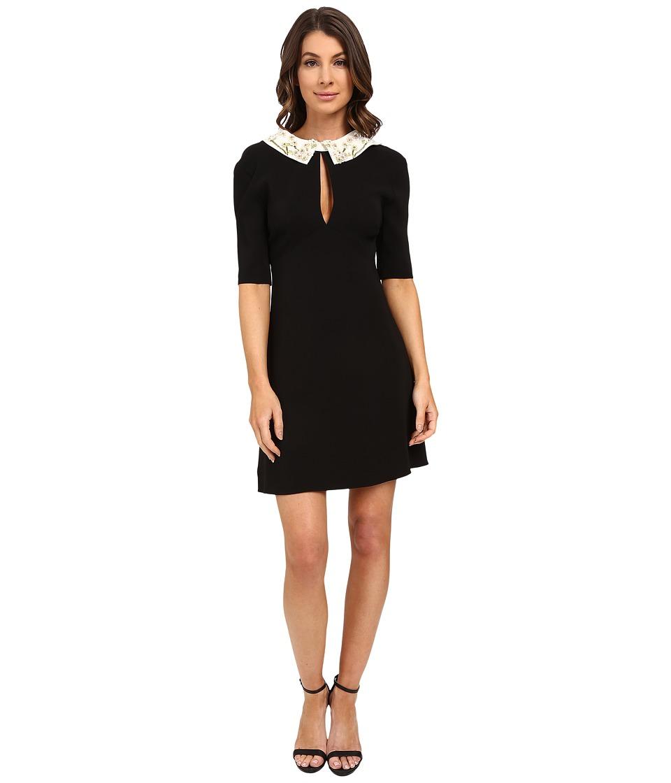 Rachel Zoe - Maclean Collared Dress (Black) Women's Dress