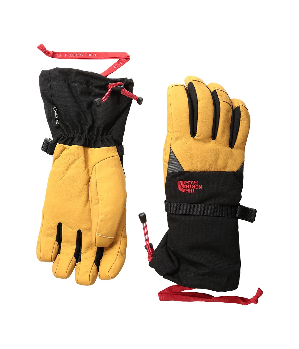 The North Face - Kelvin Gloves (TNF Black/Moab Khaki) Extreme Cold Weather Gloves