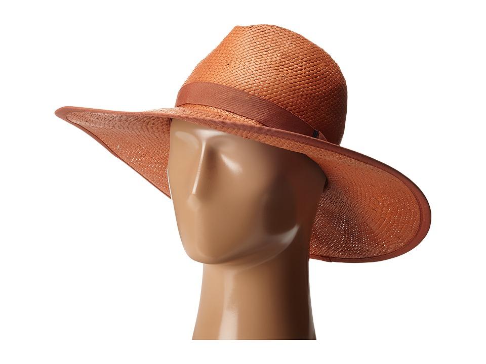 BCBGMAXAZRIA - Ribbon Floppy (Rust) Caps