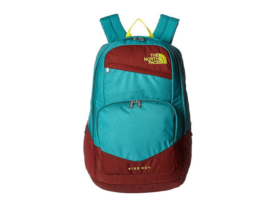 The North Face - Wise Guy Backpack (Brine Green/Sulphur Spring Green) Backpack Bags