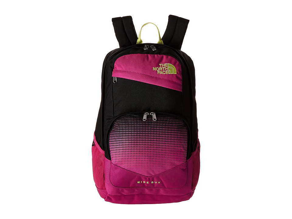 The North Face - Wise Guy Backpack (Rose Violet Pink/Hamachi Yellow) Backpack Bags
