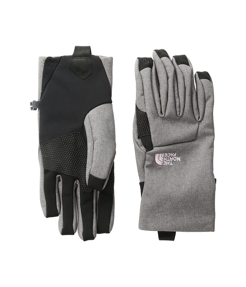 The North Face - Women's Apex Etip Glove (Rabbit Grey Heather) Extreme Cold Weather Gloves