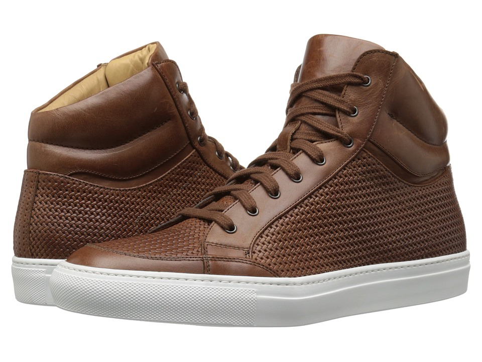 Aquatalia - Asher (Nut Woven Full Grain) Men's Lace up casual Shoes