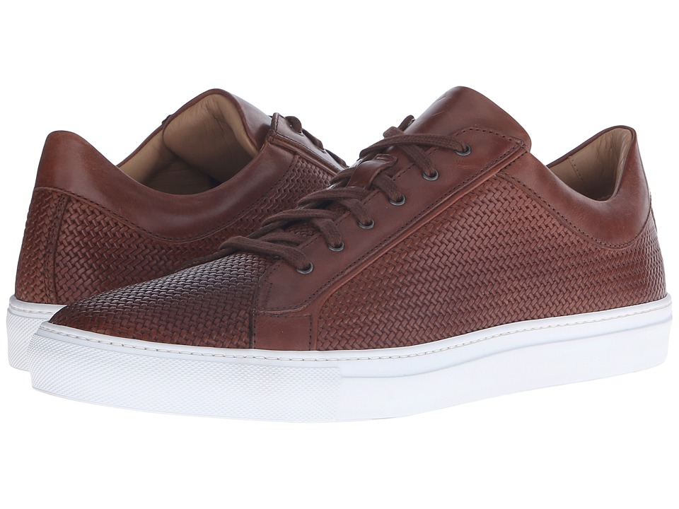 Aquatalia - Andre (Nut Woven Full Grain) Men's Lace up casual Shoes