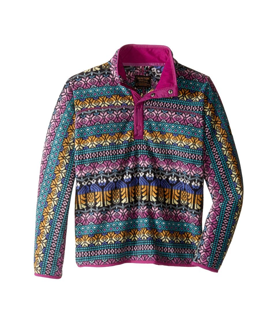 Burton Kids - Spark Anorak (Little Kids/Big Kids) (Figaro Stripe) Girl's Coat