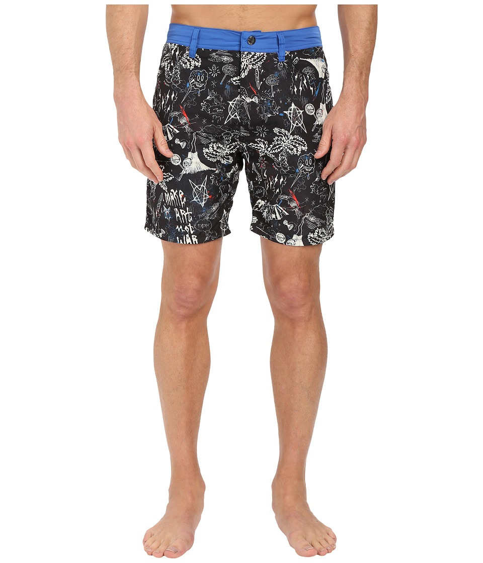 Diesel - Waykeeki-S Swim Boxer Medium BAMH (Black) Men's Swimwear