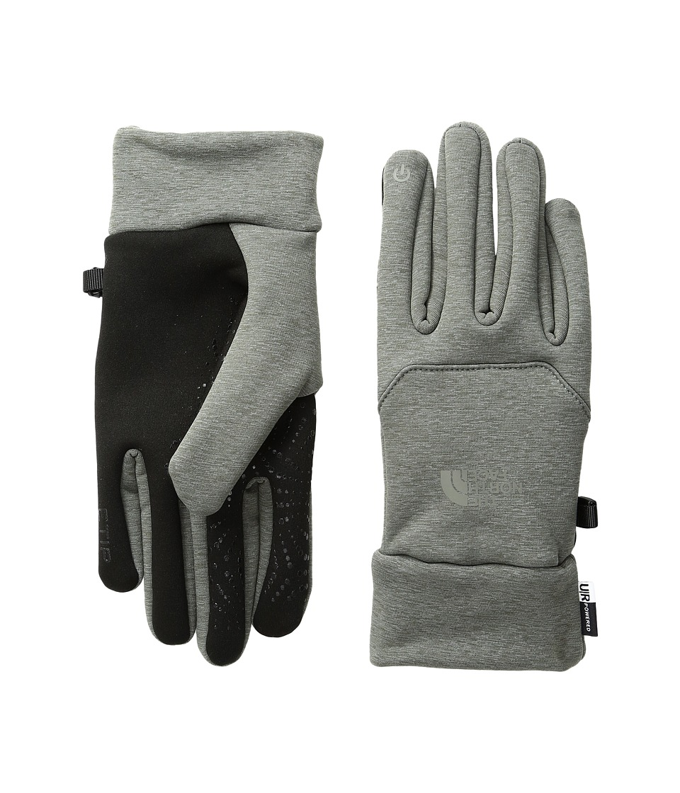 The North Face Etip Hardface Gloves (Fusebox Grey (Prior Season)) Extreme Cold Weather Gloves