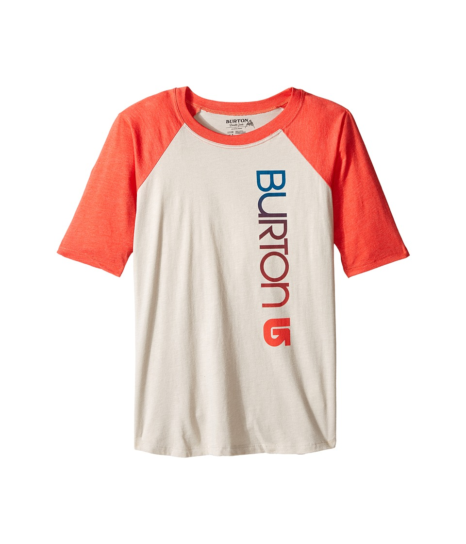 Burton Kids Antidote Raglan 3/4 Sleeve (Big Kids) (Dove Heather) Girl